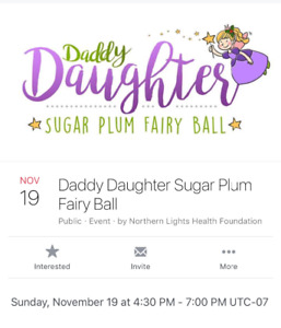 Looking for ONE ticket to Dad/daughter dance