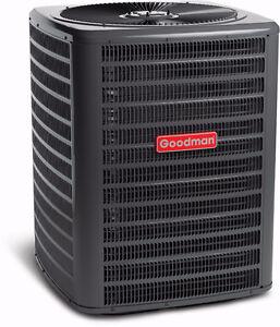 Hi-EFFICIENCY GOODMAN AIR CONDITIONER--$1799!!!