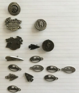 Indian Motocycle metal emblems