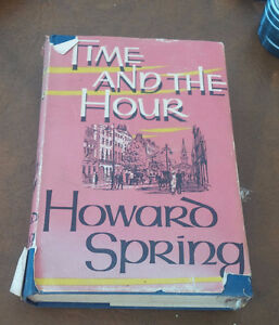 Time And The Hour, Howard Spring, 1957 Kitchener / Waterloo Kitchener Area image 1