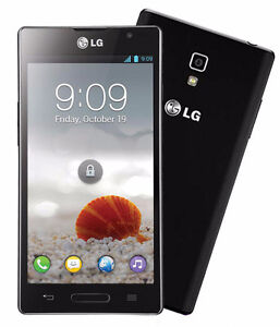 Unlocked mint 10/10 LG Optimus L9 with Case & SD card