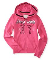 """NEW Aeropostale NY hoodie hot pink fit M chest 37-38"""","""