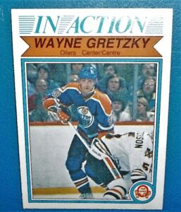 Gretzky card IN ACTION