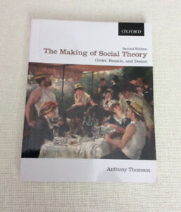 The Making of Social Theory: Order Reason Desire  2nd Ed Thomson