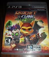 Ratchet & Clank all 4 one, PS3