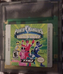 Power Rangers - Time Force GBA