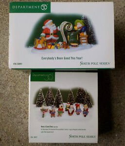 Dept 56 North Pole Series Everybody's Been Good This Year