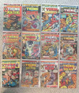 "FULL RUN ""Marvel-Two-In-One"" 1-100 + Annuals 1-7"