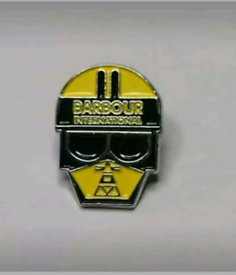 Barbour International Motorcycle Badge £4.50 Inc Free Delivery