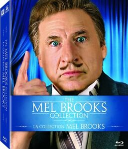 Mel Brooks Blu Ray Collection New 9 Movies