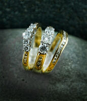 Promise/Wedding Band, Engagement Ring, and Wedding Band