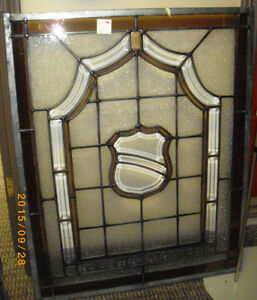 Stain Glass Bevel Door Insert / Suncatcher
