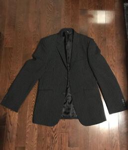 (WORN ONCE) Le Chateau Men's Pinstriped Suit