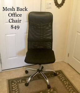 Office Chair with Breathable Mesh Back - SALE!!!