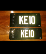 KE10 number plates Clinton Gladstone City Preview