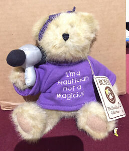 BOYDS BEARS PLUSH : I'm a beautician not a magician
