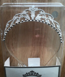Adult/Youth CZ and Metal Tiara Crown  Pageant/Princess Costume
