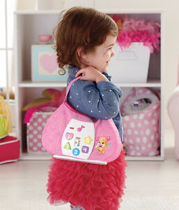 NEW:Fisher-Price Laugh & Learn Sis Smart Stages Purse - English