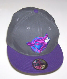 Toronto Blue Jays Size 7 1/8 New Era 59Fifty Flat Brim Cap London Ontario image 1