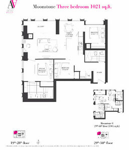 Artist Alley Condos----3 Br 1021Sqft 24th/25th May 2days only!
