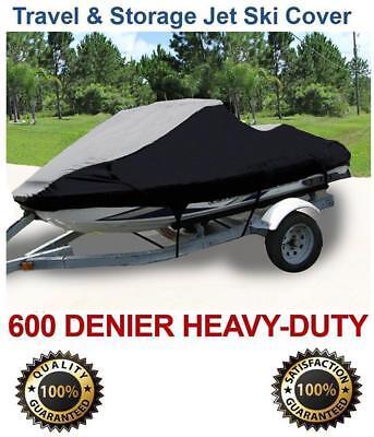"600 DENIER Yamaha PWC Jet Ski JetSki Cover 120""-129"" length 2-3 seater Cover"