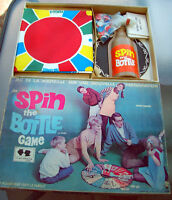 1968 HASBRO SPIN THE BOTTLE Board Game CAD EDITION Twister!