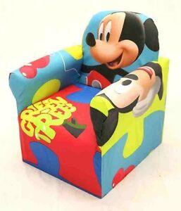 Childrens Disney Branded Cartoon Character Armchair Sofa