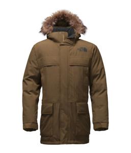North Face McMurdo Parka  Men's Medium Like New Dark Green