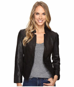 Brand New Lucky Brand Leather Blazer (small)