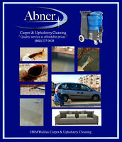 Professional Carpet & Upholstery Steam Cleaning (15% off)