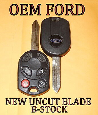 Oem Ford 80 Bit Ha Keyless Remote Key Fob Combo Rhk Transmitter 164 R7040 R7013