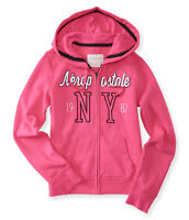 "NEW Aeropostale hoodie size M chest 37-38"" lighter hot pink"