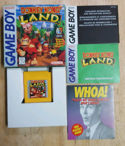 Donkey Kong Land *Complete In Box* CIB