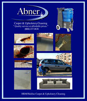 Professional Carpet & Upholstery Steam Cleaning (15%off)