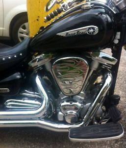 BEAUTIFUL '03 YAMAHA ROADSTAR 1600  ~  MINT '05 HONDA VTX 1800C