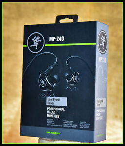 Mackie Pro Dual Driver In Ear Monitors MP-240