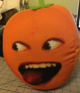 "5"" Annoying Orange talking plush"