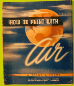 How to paint with air.