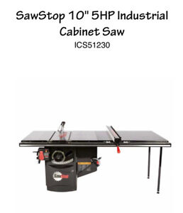 industrial saw stop table saw
