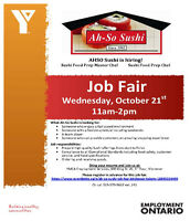 Ah-So Sushi Job Fair