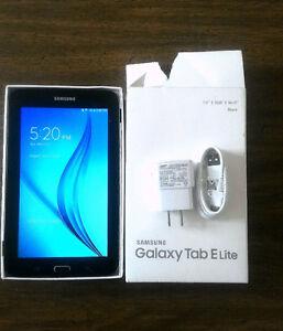 """7""""  Samsung tablet Elite"""