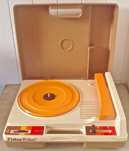 Vintage 1978. Collection. Jouet FISHER PRICE Tourne-disques L