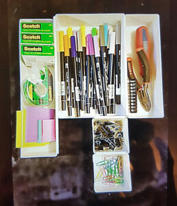 Rubber maid drawer organizers
