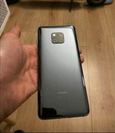 Huawei mate 20 pro plus watch GT like new & swap