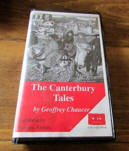 The Canterbury Tales by Geoffrey Chaucer 3 Audio Cassettes