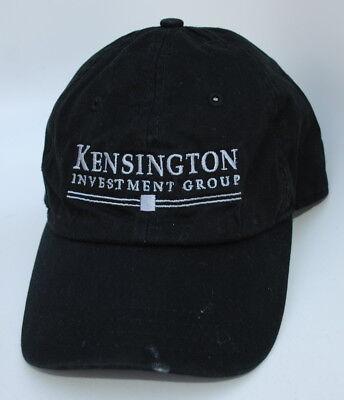 Kensington Investment Group One Size Strapback Curved Brim Dad Hat Baseball Cap