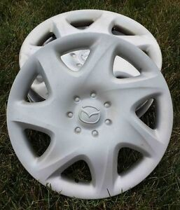 Enjoliveurs caps de roues original Mazda wheel cover 14in/po