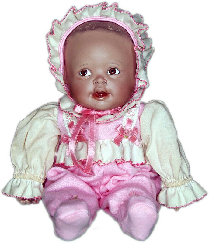 Collector Doll by Yolando Bello - Pink Pajamas - Material Culture