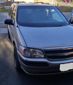 2005 Chevrolet Venture Silver Used Minivan