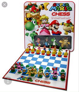 Mario Kart chess game collectors edition-$35
